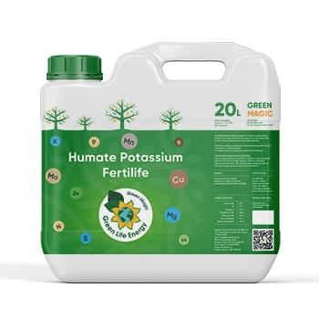 """Product Green Magic: Potassium humate """"Fertilife"""" (liquid)"""